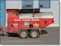 BAGELA BA 7000F - recyklátor asfaltu