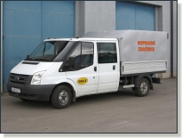 FORD TRANZIT Tourneo - vozidlo pre dopravné značenie