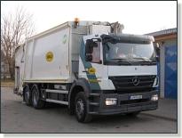 MERCEDES-BENZ AXOR 2529 - vozidlo na zvoz komunálneho odpadu