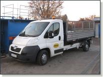 PEUGEOT BOXER - vozidlo na zvoz komunálneho odpadu