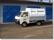 PIAGGIO QUARGO - vozidlo na zvoz komunálneho odpadu
