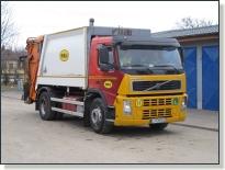 VOLVO FM9 - vozidlo na zvoz komunálneho odpadu