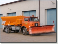 ŠKODA 706 MTSP 25 - posypové vozidlo